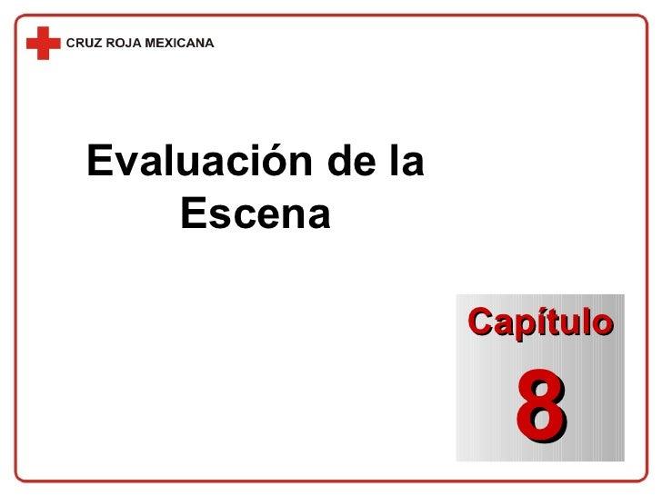 Evaluación de la Escena Capítulo 8