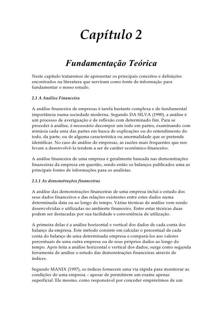 Capítulo 2                  Fundamentação Teórica Neste capítulo trataremos de apresentar os principais conceitos e defini...