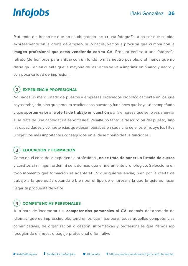 El Curriculum Vitae Tu Lienzo En Blanco Larutadelempleo