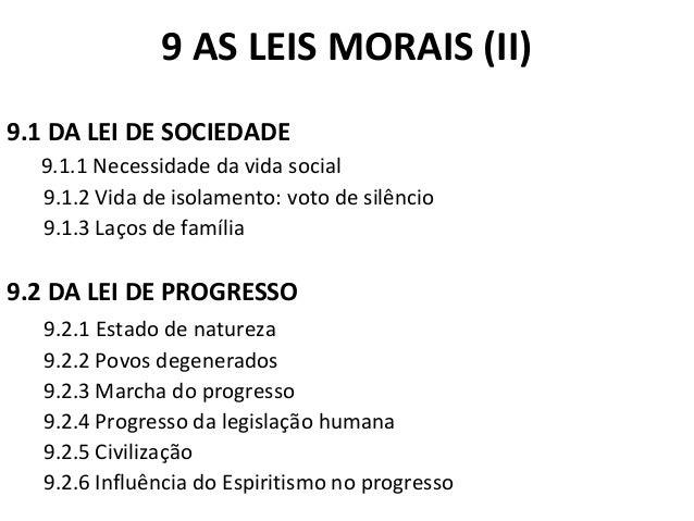 9 AS LEIS MORAIS (II)  9.1 DA LEI DE SOCIEDADE  9.1.1 Necessidade da vida social  9.1.2 Vida de isolamento: voto de silênc...
