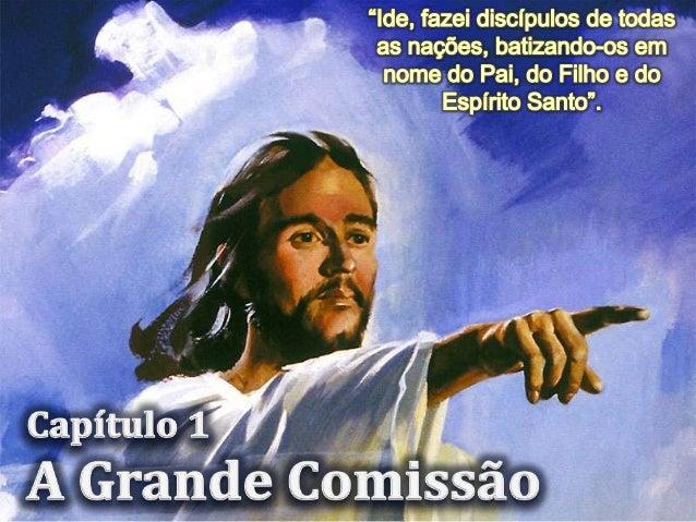 Quando Jesus se apresenta aos discípulos para lhes apresentar a grande comissão, alguns ainda duvidavam. Nem todos estavam...