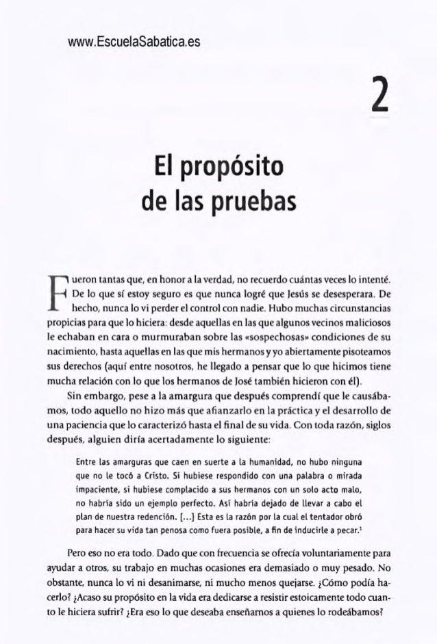 www. Escue| aSabatica. es  El propósito de las pruebas  ueron tantas que,  en honor a la verdad,  no recuerdo cuántas vece...