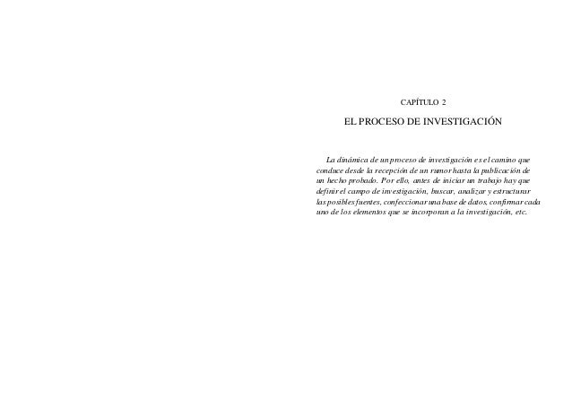 CAPÍTULO 2 EL PROCESO DE INVESTIGACIÓN La dinámica de un proceso de investigación es el camino que conduce desde la recepc...
