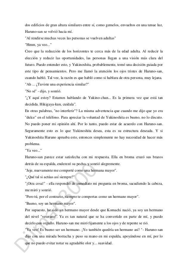Oregairu Novela Ligera Vol 12 Capitulo 2