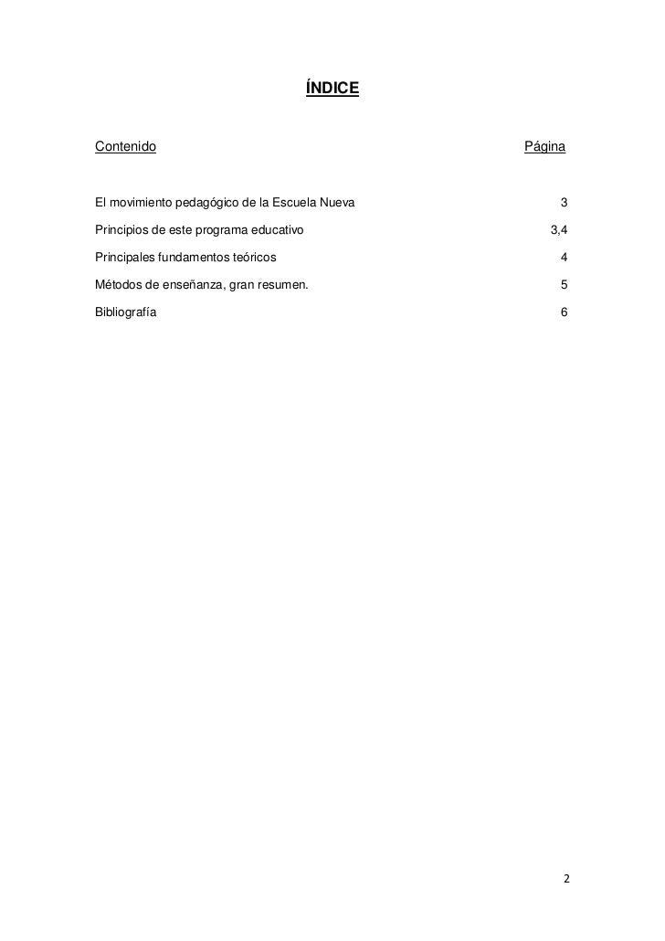 Capítulo 3: Teorías y métodos de la Escuela Nueva Slide 2