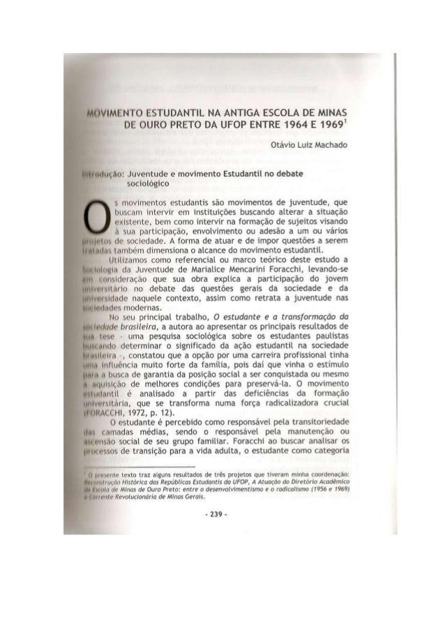 Capítulo de livro sobre emop e 1964