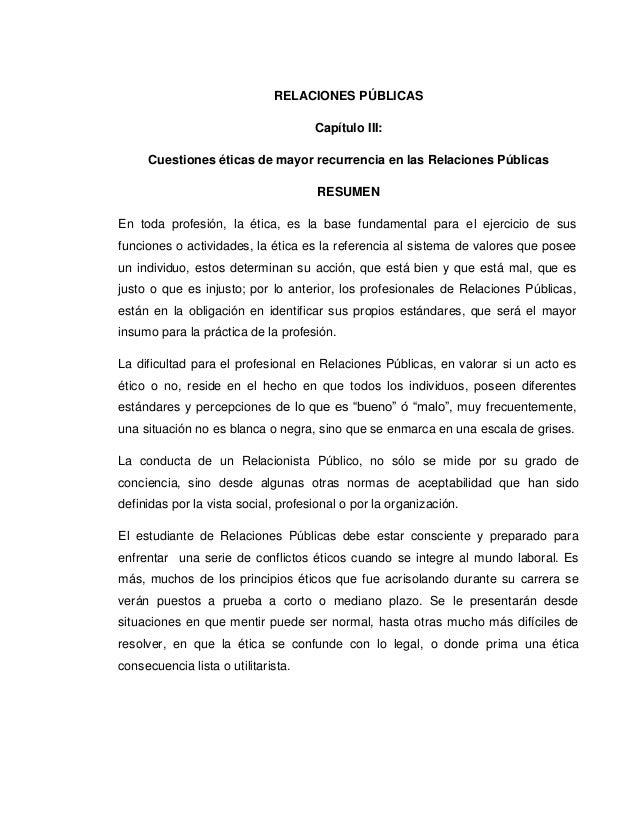 capítulo iii docx rrpp resumen desarrollo conclusion