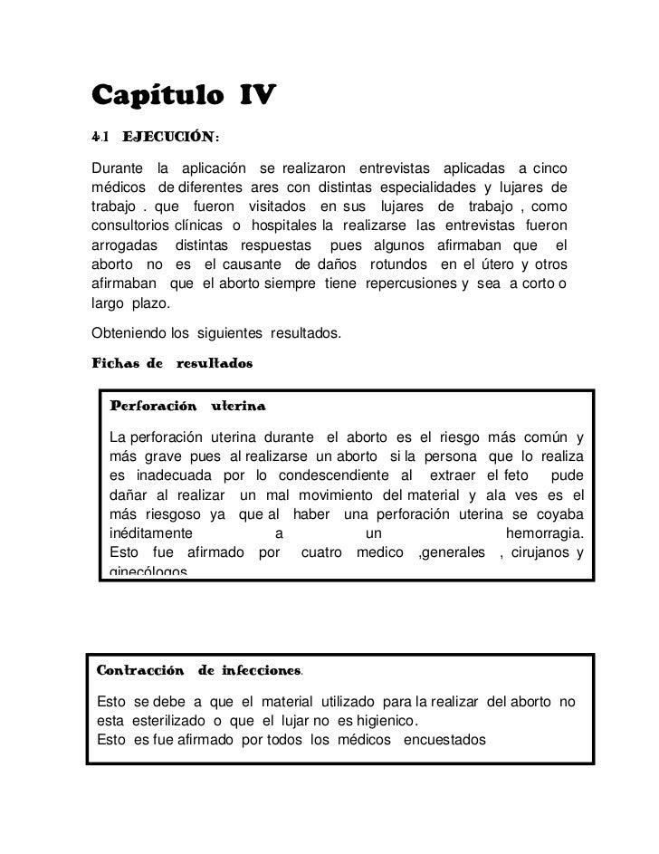Capítulo  IV<br />4.1  EJECUCIÓN:<br />Durante  la  aplicación  se realizaron  entrevistas  aplicadas  a cinco  médicos   ...