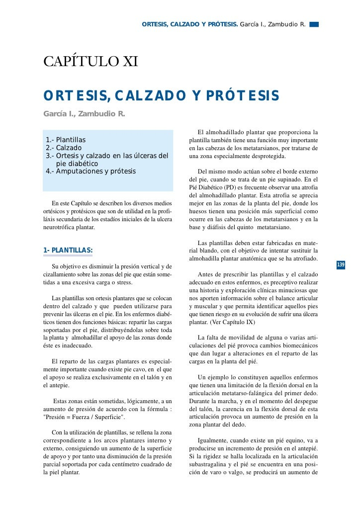 ORTESIS, CALZADO Y PRÓTESIS. García I., Zambudio R.     CAPÍTULO XI  ORTESIS, CALZADO Y PRÓTESIS García I., Zambudio R.   ...