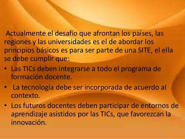 Cap V Tic. Desarrollo Profesional En Tics Para Educadores