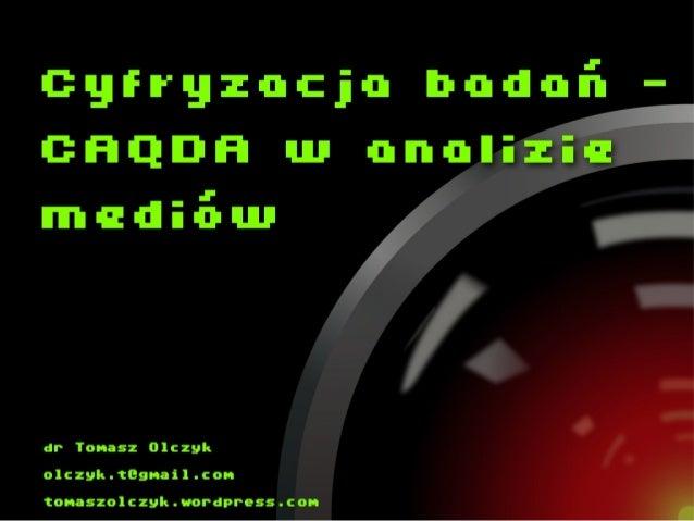 cyfryzacja badañ _ł madu-nnw  o1czyk. tEgnail. con  tonaszolczyk. wordpress. con