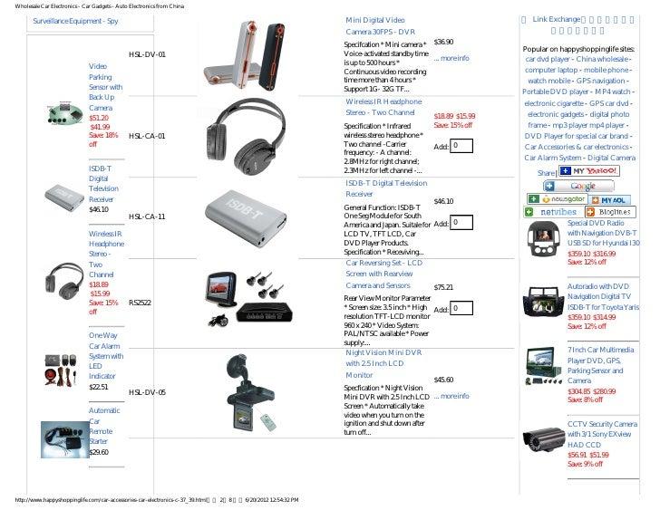 Car electronics, all kinds of car electronics