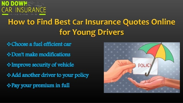 Best Car Insurance Policy for Young Drivers
