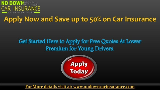 Car Insurance Quote Without Personal Details: Best Car Insurance Policy For Young Drivers