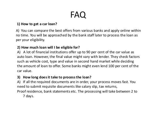 Maturity Date Of Car Loan