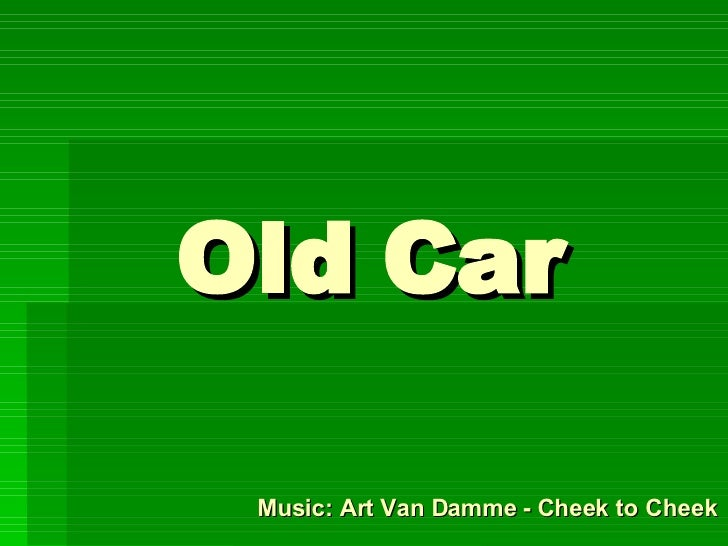 Old  Car Music: Art Van Damme - Cheek to Cheek