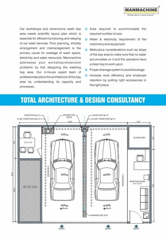 Floor Plan Car Wash Design Layout Philippines