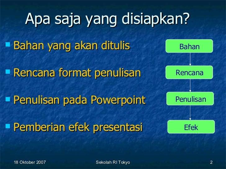 Cara Membuat Presentasi