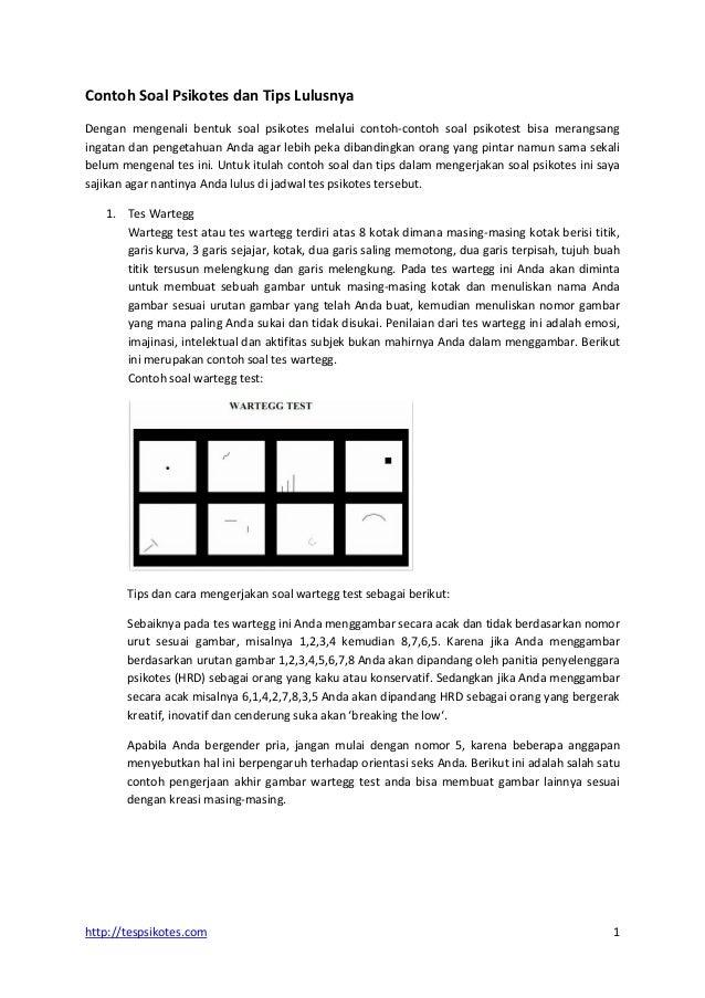 83 Contoh Contoh Soal Psikotes Dan Cara Menyelesaikannya Dengan Mudah Dan Terbaru Contoh