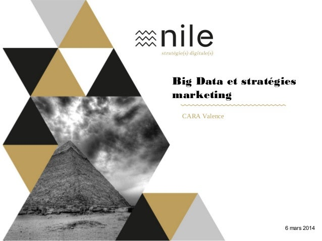 Big Data et stratégies marketing CARA Valence 6 mars 2014
