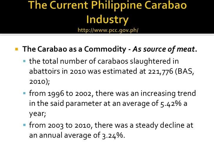 External anatomy of carabao