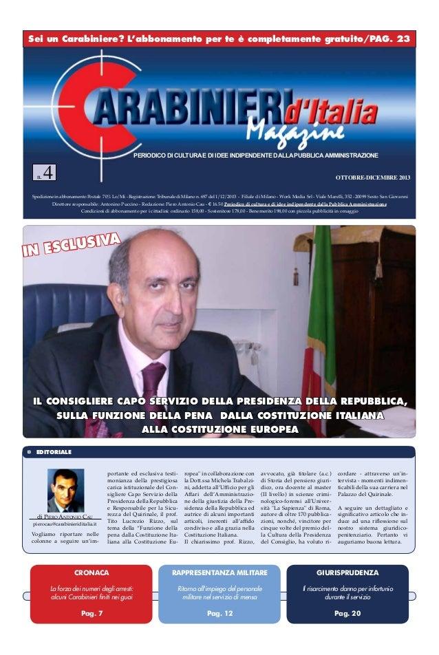 Carabinieri Ditalia Magazine