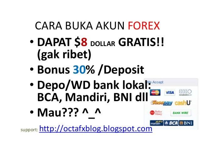 Broker forex bca