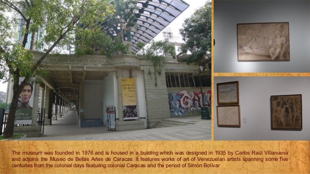 caracas  the national art gallery1
