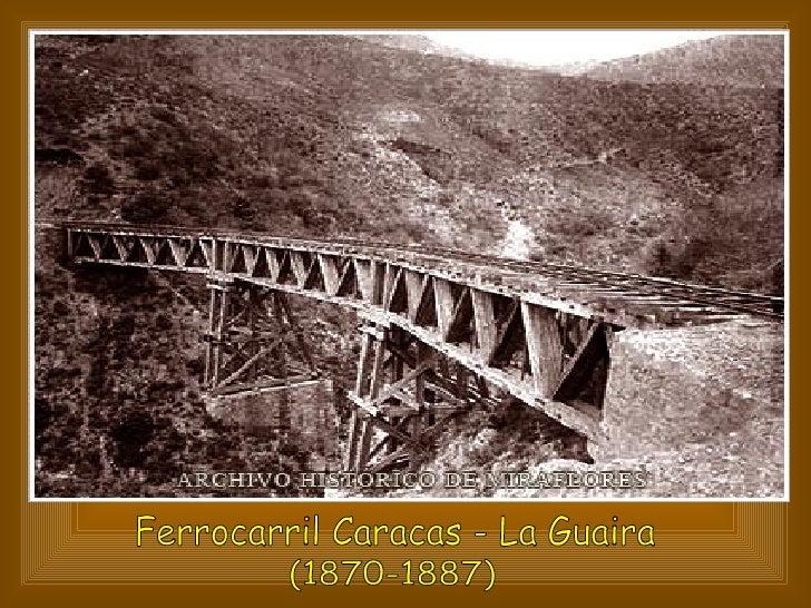 Ferrocarril Caracas - La Guaira (1870-1887)