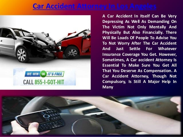 Los Angeles Car Accident: Car Accident Attorney In Los Angeles