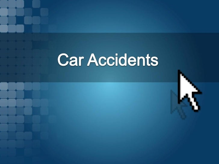 Each year, over 6 million auto accidents take placein the United States.