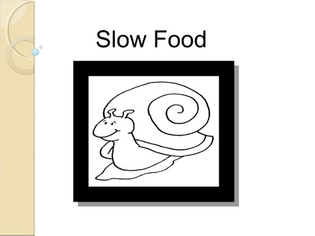 comida lenta