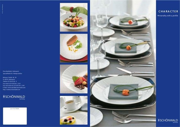 02/06 www.schliesske.de                                                                     CHARACTER                     ...