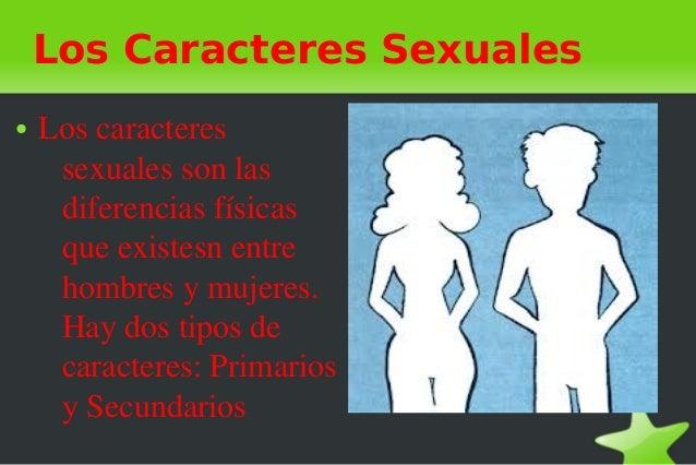 Caracteres sexuale primarios para pintar