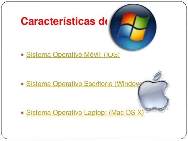 Caracter sticas de un sistema operativo m vil for Escritorio ergonomico caracteristicas
