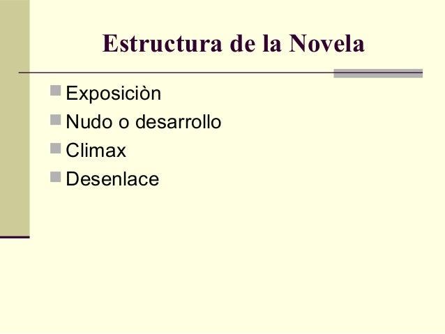 Características De La Novela