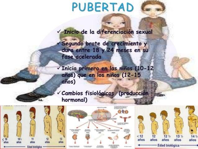 Caracteristicas biologicas y cambios fisiologicos Slide 2
