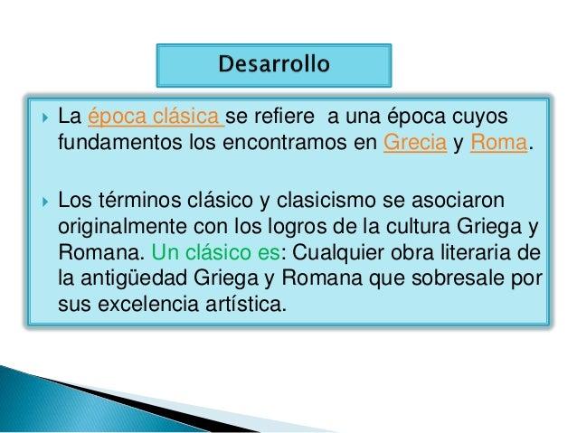 caracteristicas de la epoca grecolatina