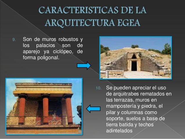 Caracteristicas de la arquitectura egea for Caracteristicas de la arquitectura