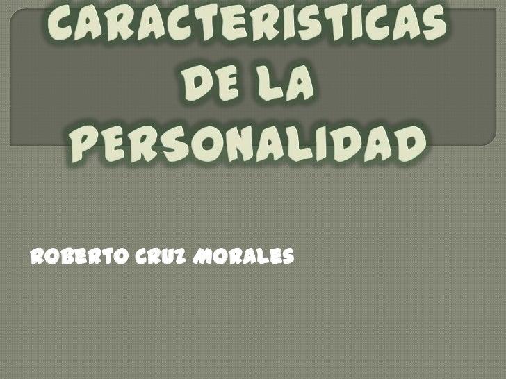 Roberto Cruz Morales
