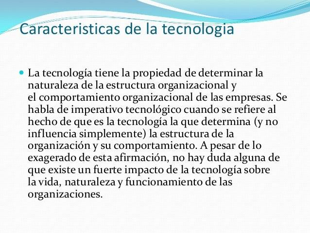 Caracteristicas de la tecnologia for Marmol caracteristicas y usos