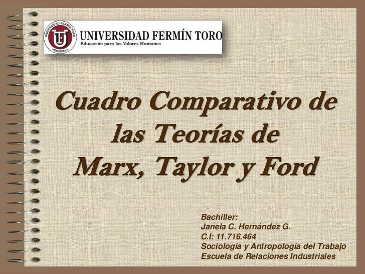 Bachiller:Janela C. Hernández G.C.I: 11.716.464Sociología y Antropología del TrabajoEscuela de Relaciones Industriales