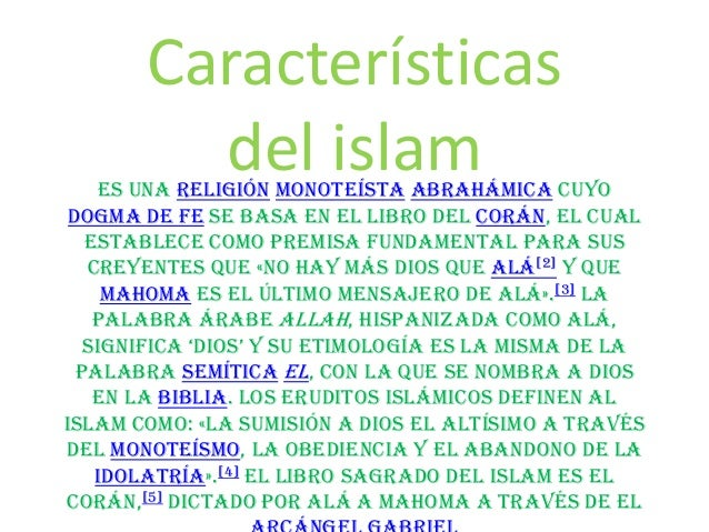 Caracteristicas del islam - Que es el corian ...