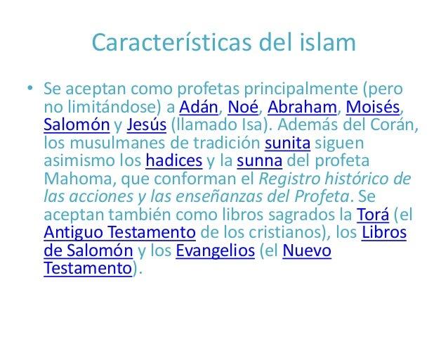 Caracteristicas del islam