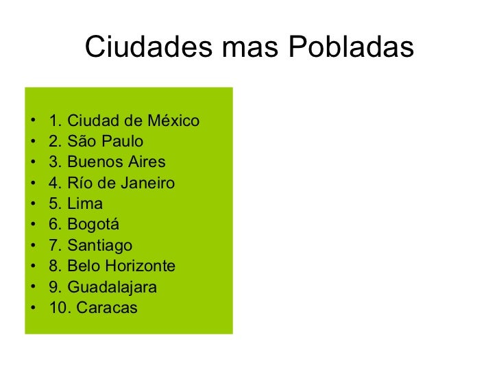 america latina caracteristicas generales de la - photo#17