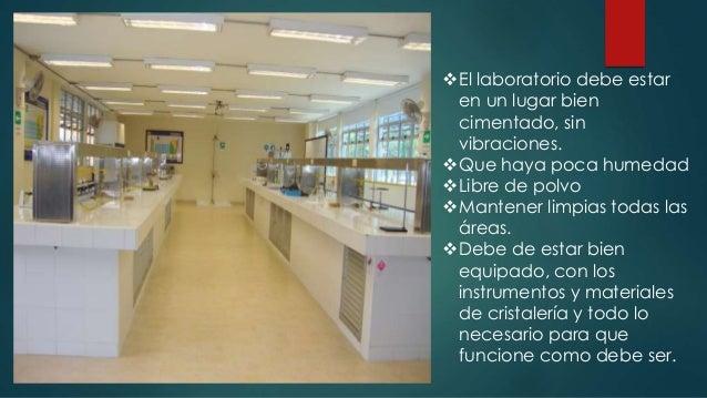 Caracteristicas generales y particuales de un laboratorio for Caracteristicas del mobiliario