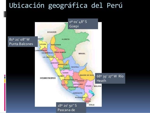 Caracteristicas Geograficas Del Peru 2º