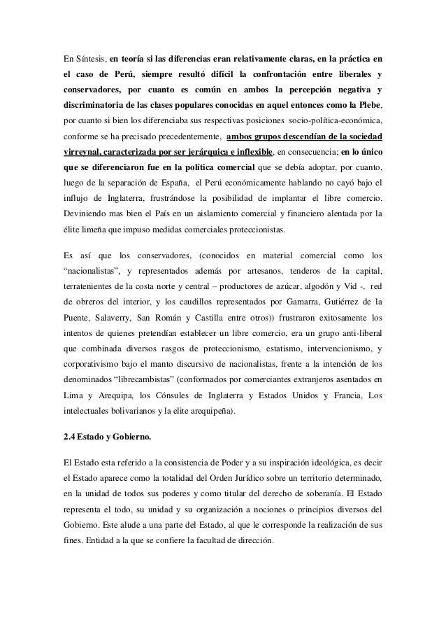 En Síntesis, en teoría si las diferencias eran relativamente claras, en la práctica enel caso de Perú, siempre resultó dif...