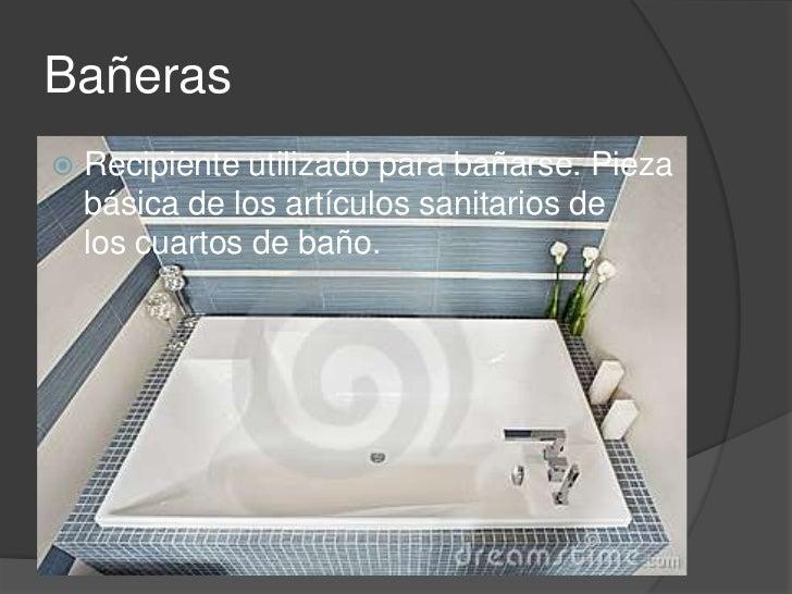 Caracter sticas de aguas residuales y muebles sanitarios 2 for Objetos para banarse