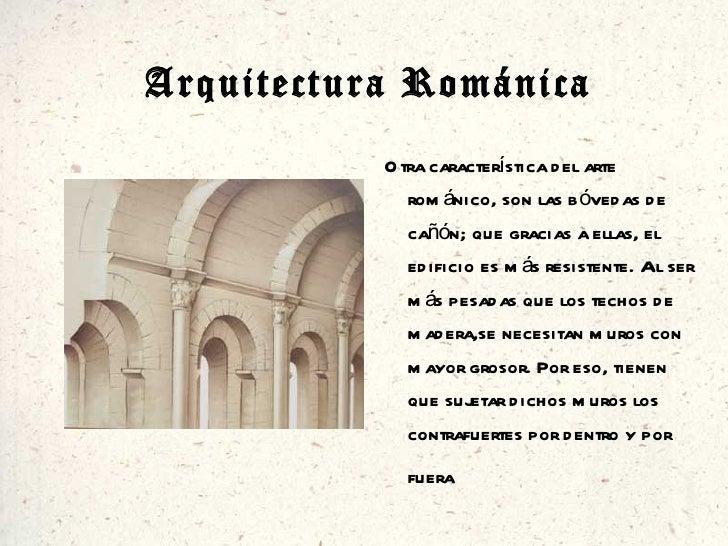 Caracter sticas de arquitectura rom nica y g tica manuel for Caracteristicas de la arquitectura